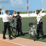 Training di biker team -potrèt: Belkis Osepa