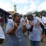 Boneiru ta kana dilanti den e akshon 'Doet' den Karibe | Potrèt: Belkis Osepa