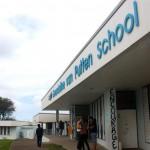 Gwendoline van Putten School ta e úniko skol di enseñansa sekundario – potrèt: Anneke Polak