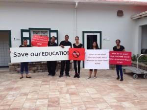 Alumnonan di Saba Comprehensive School ke nan dosentenan bèk – potrèt: Alida Heilbron