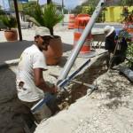 Konstruí di kloaka na Boneiru - potrèt: Belkis Osepa