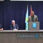 Minister Dowers na palabra - potrèt: BUVO