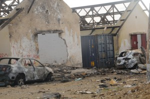 E krùithùis bieu na Seru Loraweg a eksplotá na desèmber 2012 - potrèt: Ministerio Públiko