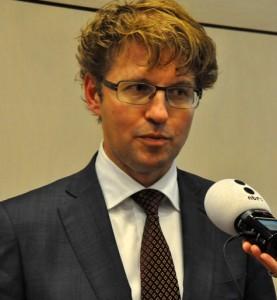 Sekretario di estado Sander Dekker – potrèt: Suzanne Koelega
