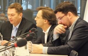André Bosman, Ronald van Raak, Roelof van Laar – potrèt: Suzanne Koelega