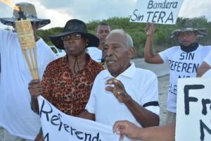 Chiro Emerenciana i partisipantenan na komienso di marcha foto: Extra Boneiru