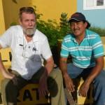 Michiel Bijkerk i Luis Rodriguez Gamarro Foto Belkis Osepa