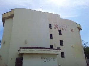 E ruina di Bushiri Hotel cuSouthwest Horeca Development NV kier tumba y pone un Hard Rock Hotel na su luga. Foto: Ariën Rasmijn