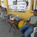 Meinta trempan na e lugá di protesta | potrèt: Belkis Osepa