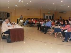 Reunion informativo di ABVO tokante eliminashon di areglo  di VUT | Potrét Jose Manuel Dias
