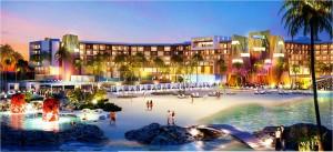 Diseño di e Hard Rock Hotel cu Southwest Horeca Development kier a construi.