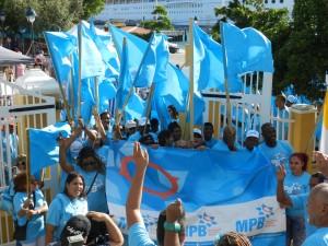 Partido nobo MPB | potrèt: Belkis Osepa