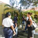 Marga Domingo, abogado di sospechoso Pacheco den kombersashon ku polis | potrèt Belkis Osepa