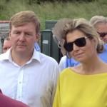 Rey Willem-Alexander y Reina Maxima -potrèt: Jean Mentens
