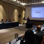Pa promé bes Aruba ta pais wéspet di e konferensha regional di refugiado – potrèt: Sharina Henriquez