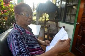 Yolanda Dongen ta biba den Wishi bou di e huma di Isla - Potrét: Dick Drayer