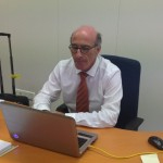 Inspektor Gershi Rodrigues Pereira den su ofisina – potrèt: Leoni Leidel-Schenk