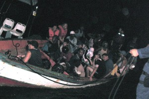 Wardakosta a detené un boto ku imigrante ilegal di Venezuela – potrèt: Wardakosta