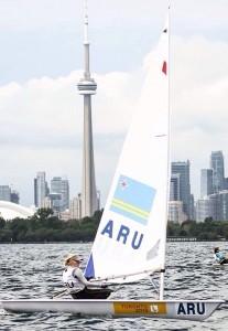Philipine van Aanholt den akshon na Weganan PanAm na Toronto