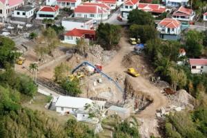 For di 10-10-10 hopi kos a drecha na Saba su infrastruktura - potrèt: Hazel Durand