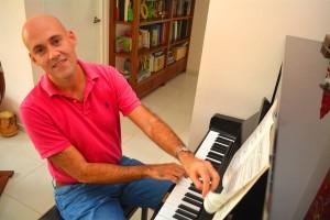 Randal Corsen ke un konservatorio na Kòrsou | Potrèt: Dick Drayer