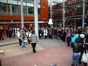 Drumband Zwolse Panters – potrèt: HoltenbroekNu.nl