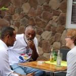 E parlamentarionan djasabra tabatin un 'meet and greet' ku komunidat di Saba – potrèt: Hazel Durand