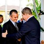 Gerrit Schotte i promé minister Mike Eman na 2010