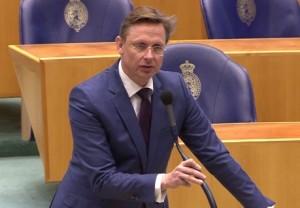 Miembro di Tweede Kamer Han ten Broeke (VVD)
