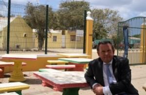 Defensor di pueblo Reinier van Zutphen ta na Hulanda Karibense pa di promé biaha – Potrèt: Janita Monna