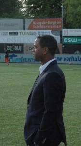 Coach di federashon Patrick Kluyvert. Potrèt Pieter Hofmann