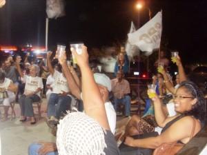 Brindis pa eksito di partido Pro Korsou - Jose Manuel  Dias