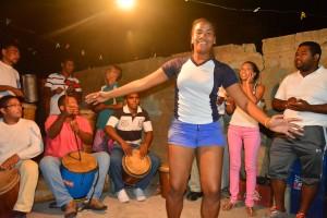 E tambor den e bario La Guinea – potrèt: Dick Drayer