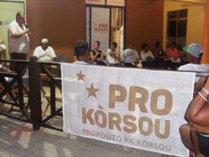 Enkuentro na sede di Pro Korsou - Jose Manuel Dias