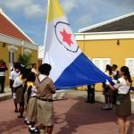 Hisamentu di e bandera di Boneiru - potrèt: Janita Monna