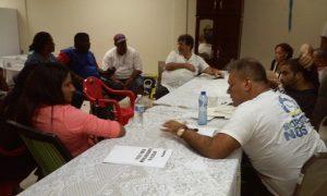 Enkuentro na sede di Kòrsou di Nos Tur - potrèt: José Manuel Dias