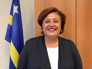 Suzy Camelia-Römer, number dos riba lista di PNP – potrèt: Elisa Koek
