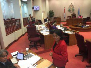 Miembro di Parlamento Desiree de Sousa-Croes - potrèt: Ariën Rasmijn